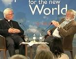 Erzbischof Franz Lackner im Gespräch mit Ex-EU-Kommissar Franz Fischler