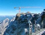 Baustelle Zugspitze