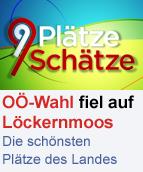 9 Plätze, 9 Schätze - OÖ-Wahl fiel auf Löckernmoos
