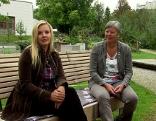 Christina Sonntag und Diemut Strasser im ORF Salzburg Fernsehgarten
