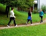 Nordic Walking Gruppe