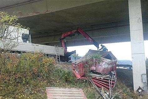 Unfall bei Treglwang