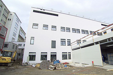OP-Baustelle im Wilhelminenspital