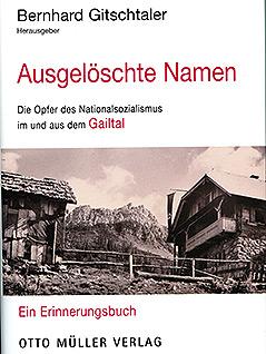 Ausgelöschte Namen Gailtal Buch