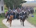 Begunci pribežniki policija konji