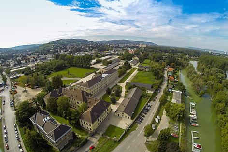 Luftbild Magdeburg-Kaserne