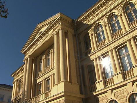 Baustelle Landesmuseum