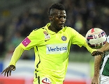 Olarenwaju Ayobami Kayode (Austria/l.) und Nedelijko Malic (SV Mattersburg