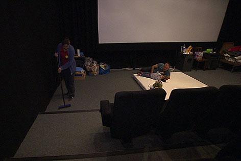 Flüchtlinge im Kino