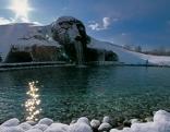 Kristallwelten Riese im Winter