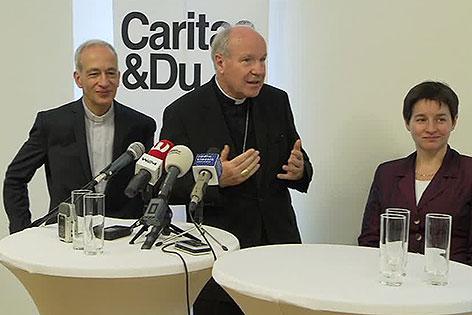 Michael Landau, Christoph Schönborn, Sonja Wehsely