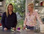 Christina Sonntag und Kornelia Seiwald in der Fernsehgartenküche