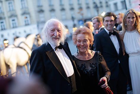 Karl Merkatz mit seiner Ehefrau Martha