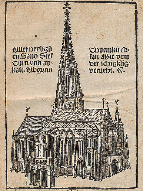 Stephansdom, Wiener Heiltumsbuch, 1502