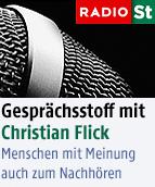 """""""Gesprächsstoff"""" mit Christian Flick"""