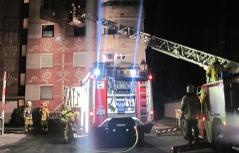 Brand Hafnerriegel Feuerwehr Einsatz