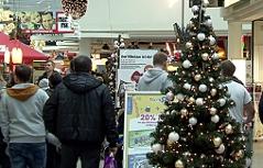 Weihnachtseinkauf, Wels, Haid