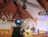 Pfarrkirche Pichling aus welcher am 29.11.15 der Fernsehgottesdienst übertragen wird