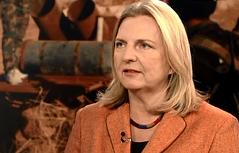 """Nahostexpertin Karin Kneissl in der ORF-Sendung """"heute mittag"""" am  24.11.15"""
