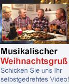 Musikalischer Weihnachsgruß