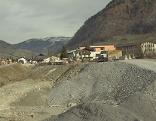 Baustelle bei der Schloßalmbahn in Bad Hofgastein