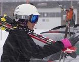 Skisport Skifahrerin Skifahrer Skifahren Ski Schi Wintersport Skiferien