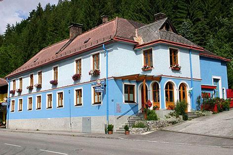 Philharmoniker Haus für Asylsuchende in Sankt Aegyd
