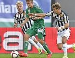 Fußball Bundesliga Rapid gegen Admira am 20.9.2015
