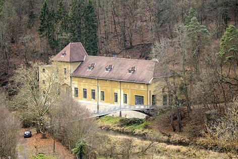 Kleinwasserkraftwerk Rosenburg