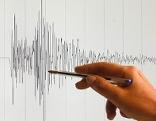 Erdbeben Seismogramm