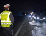 Planquadrat Schwerpunktkontrolle Polizei Alkokontrolle