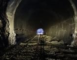 Gleisarbeiten im Tunnel