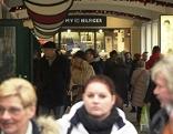 Einkaufen im Outlet Center Parndorf am 8. Dezember