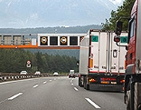 LKW auf der Brennerautobahn