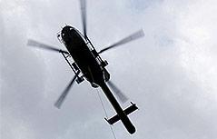 Hubschrauber der Bergrettung in Tirol