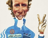 Erich Sokol Niki Lauda 1975