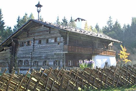Altes Bauernhaus im Freilichtmuseum Großgmain