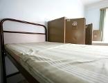Kaserne Bett Flüchtlinge Unterkunft