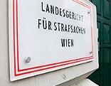 Schild Landesgericht für Strafsachen Wien