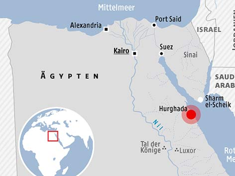 Terroranschlag Ägypten Sicherheit Hurghada