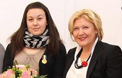 Baby Rettung Auszeichnung Medaille Marina Pajnik