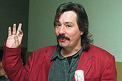 Wolfgang Purtscheller vor einem Prozess im Jahr 1997