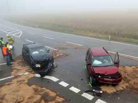 Unfall bei St. Georgen
