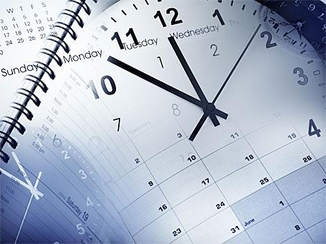 Uhren und Kalender