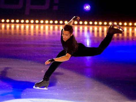 Eiskunstlauf-Europameister Florent Amodio aus Frankreich
