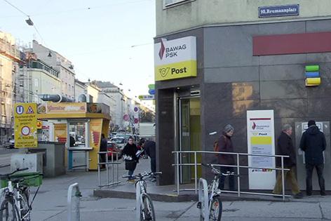 Filiale der BAWAG PSK in Wien
