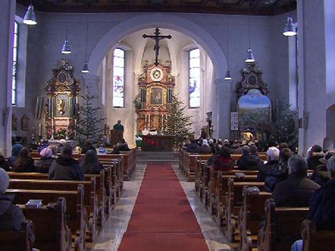 Altar Bildstein Kirche