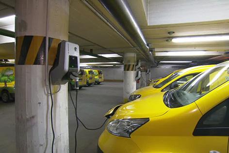 Elektro-Auto in Wien