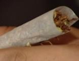 Suchtmittel / Drogen: Cannabis Zigarette