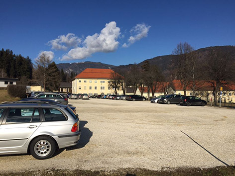 Parkplatz Henselkaserne Villach